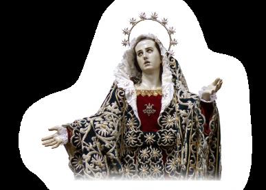 Tejidos religiosos en Murcia