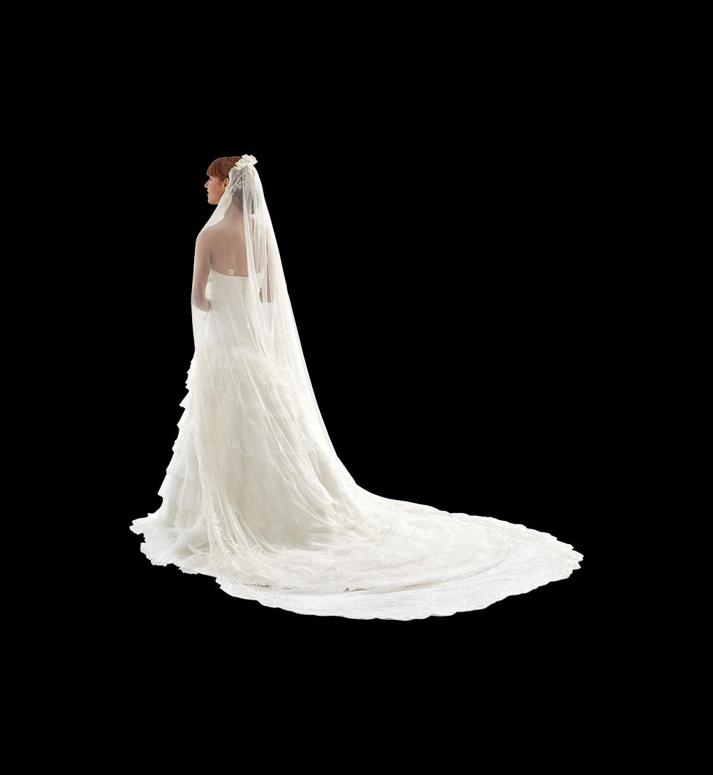Velo y mantilla para novias en Murcia